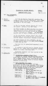 Operational Order No. 70 p1 (Source: Library & Archives Canada)