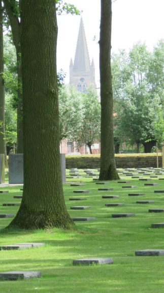 German Military Cemetery at Langemark