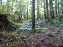The entrance to Morpheus Island's tiny cemetery