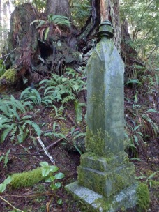 The grave of Jakob Flovik, Morpheus Island Cemetery