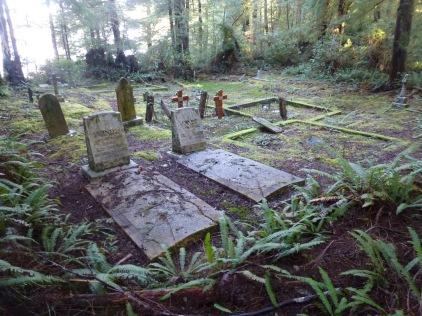 The graves of Jacob and Johanna Arnet, Morpheus Island Cemetery