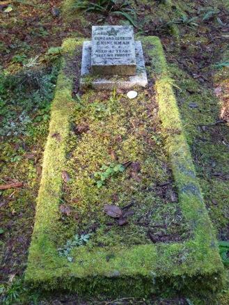 The grave of Rowland Egerton Brinckman, Morpheus Island Cemetery