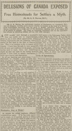 People's Journal part 1, 16 October 1915 (source: https://www.britishnewspaperarchive.co.uk)