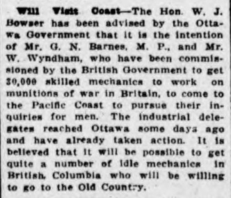 British Colonist, 29 May 1915 (Source: http://britishcolonist.ca)