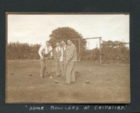 Bowlers at Chipstead