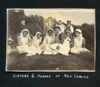 Sisters and Nurses at Red Gables